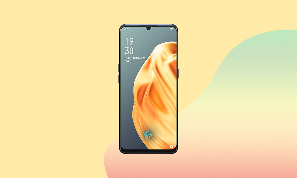 Oppo F15 Grabs July 2020 Security Patch (A.37) - CPH2001_11_A.37