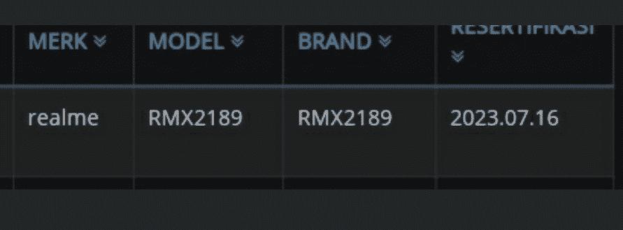 Realme C12 - certification(2)