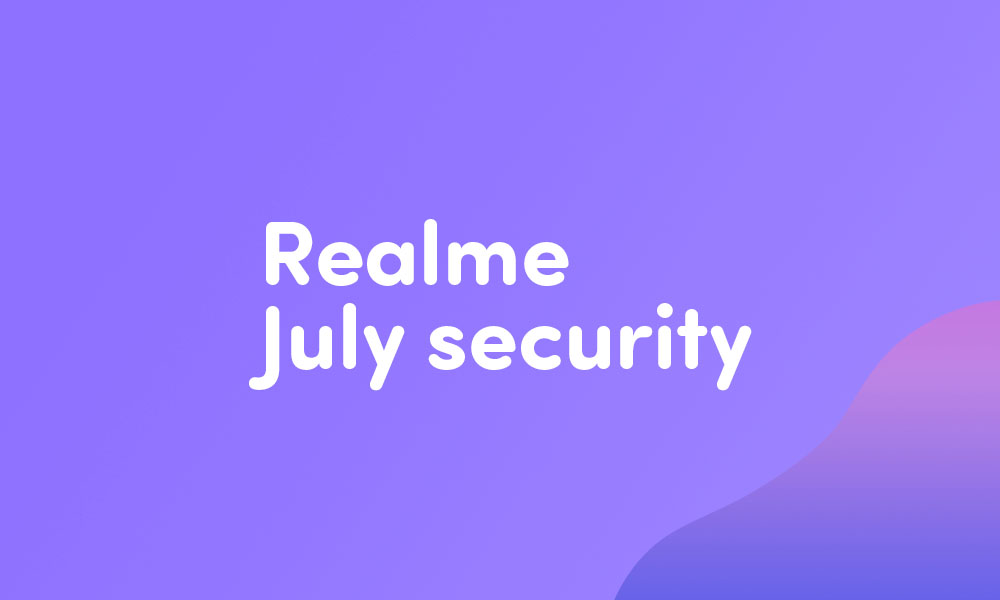 Realme 3 and Realme 3i grab C.14 July security patch (2020)