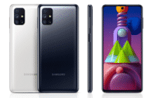 Samsung Galaxy M51 - Black and White color