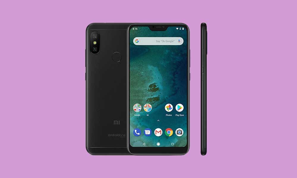 Xiaomi Mi A2 Lite August 2020 Patch update rolling out (Download)