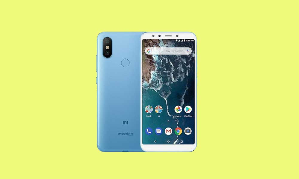 Xiaomi Mi A2 gets Android 10 update with July 2020 Patch (Download Link)