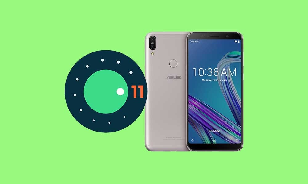 Asus Zenfone Max Pro M1: Download/Install Android 11 AOSP ROM