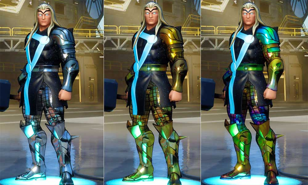 Fortnite: How to get gold Thor (foil wraps for Thor)