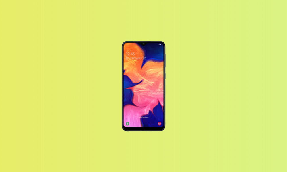 A105FDDU4BTH5: Galaxy A10 bags August 2020 Security Patch in India