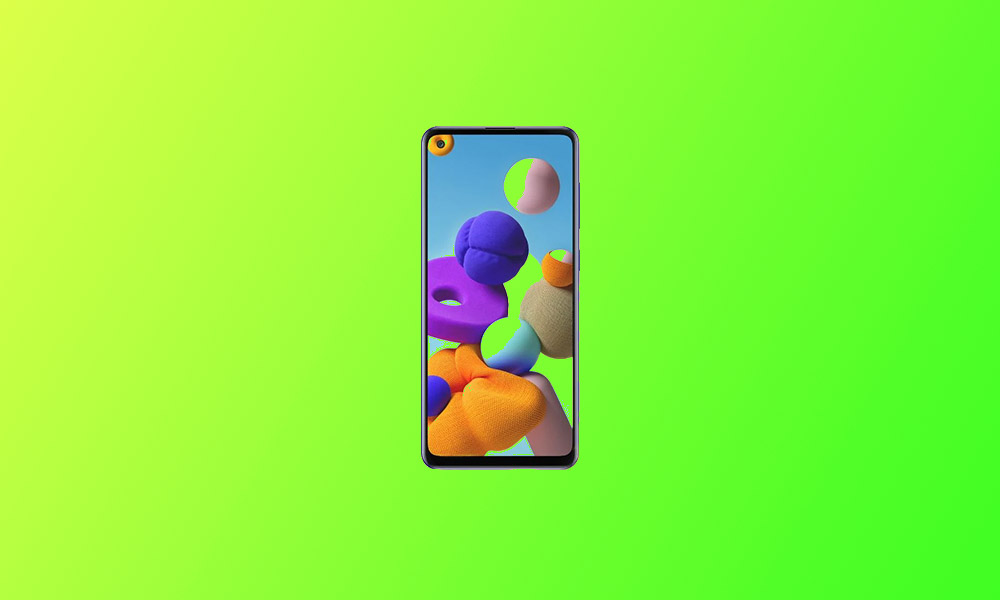 September Security Patch 2020: A217FXXU3ATI2 For Galaxy A21S (Europe)