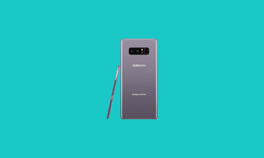 N950FXXUDDTH1: Galaxy Note 8 Picks up September Security Patch in Europe