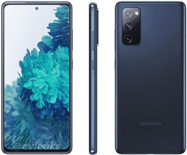 Galaxy S20 Fan Edition - render(1)