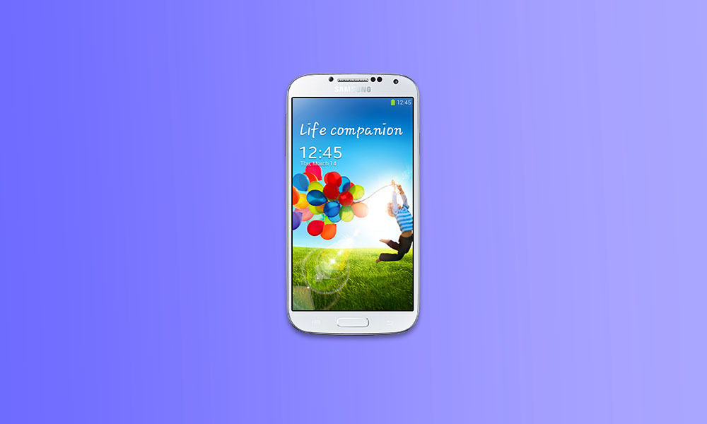 Download and Install Lineage OS 18 on Samsung Galaxy S4 (Android 11)