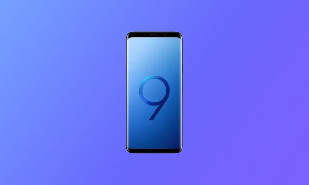 September Security Patch 2020: G965USQS8ETH5 For Sprint / T-Mobile Galaxy S9+