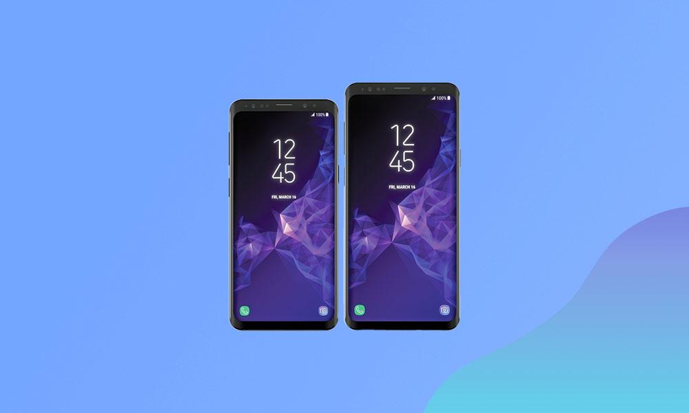 G960USQS8ETH6 / G965USQS8ETH6: Sprint Galaxy S9/S9+ September 2020 Security