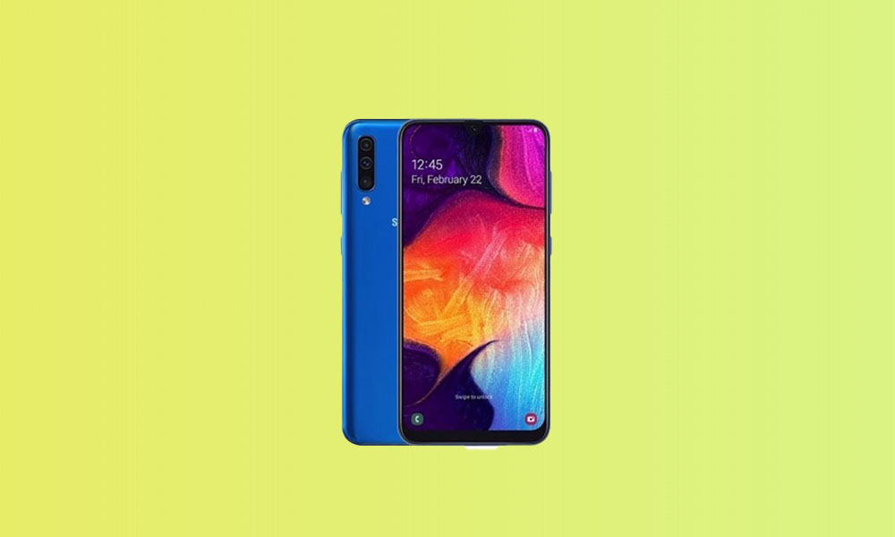 A505FDDU5BTH8: Galaxy A50 gets August 2020 Security Patch in India & MEA