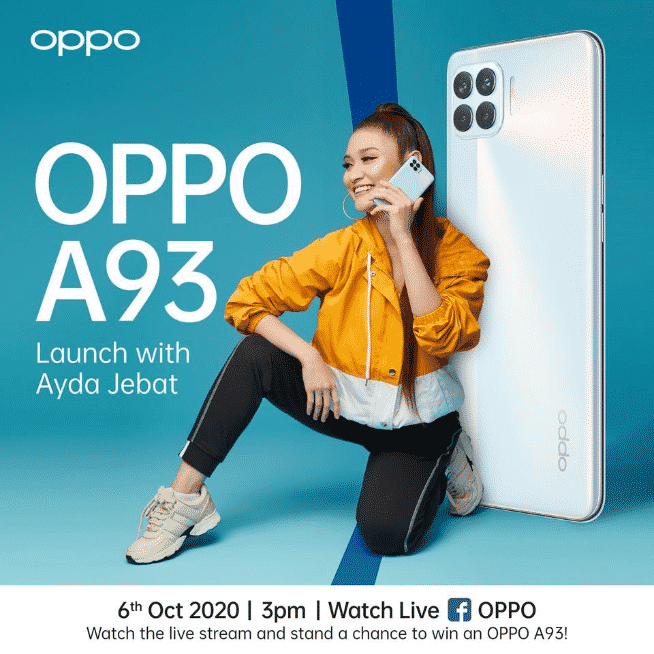 OPPO A93 - launch