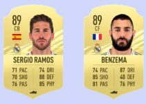 Real Madrid Fifa 21: Players Ratings (List and details)