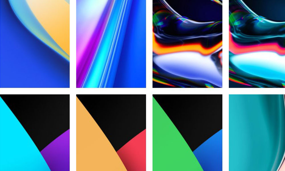 Download Realme 7 Pro Stock Wallpapers - Preview