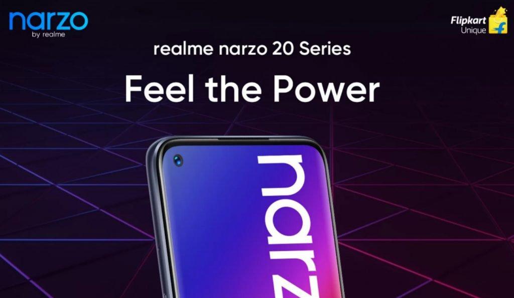 Realme Narzo 20 series - launch date
