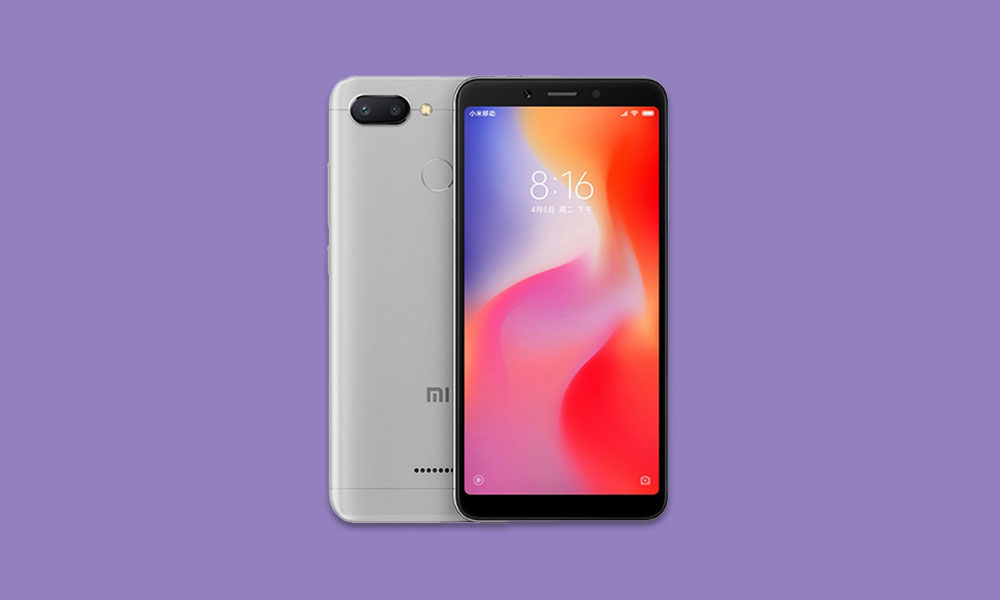 V11.0.5.0.PCGRUXM: Redmi 6 MIUI 11.0.5.0 Russia Stable ROM - August security patch 2020