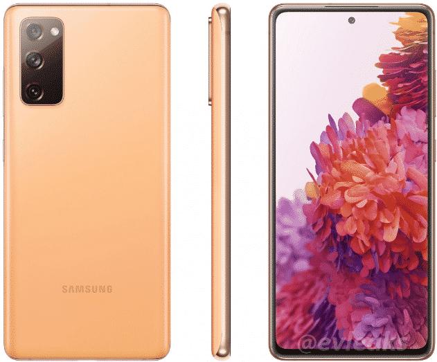 Samsung Galaxy S20 Fan Edition - render