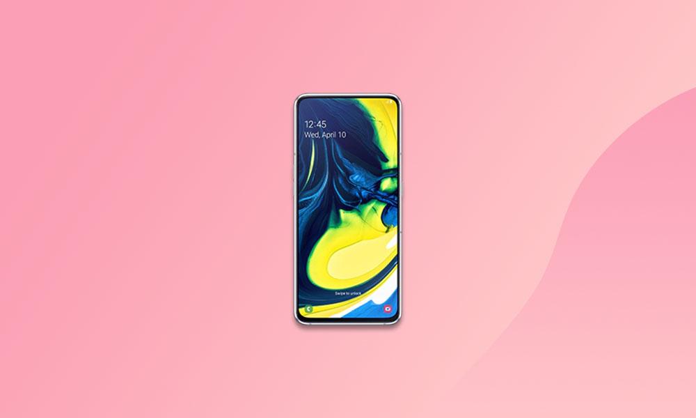 September Security 2020: A805FXXS4BTJ2 Galaxy A80 (South America)