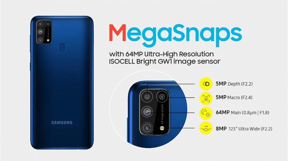 Galaxy M31 Prime - camera