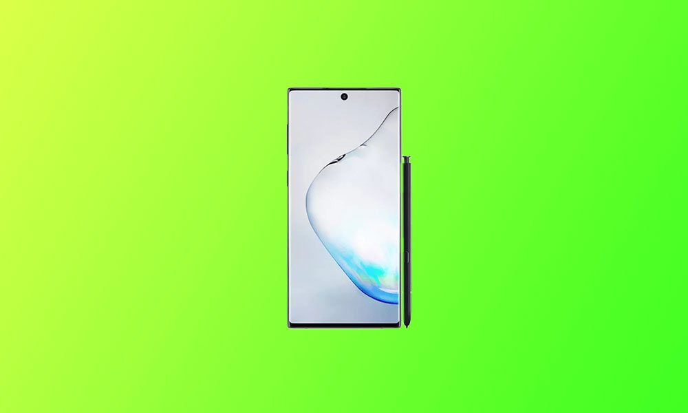 October Security Patch 2020: N975FXXS6DTI5 For Galaxy Note 10 Plus
