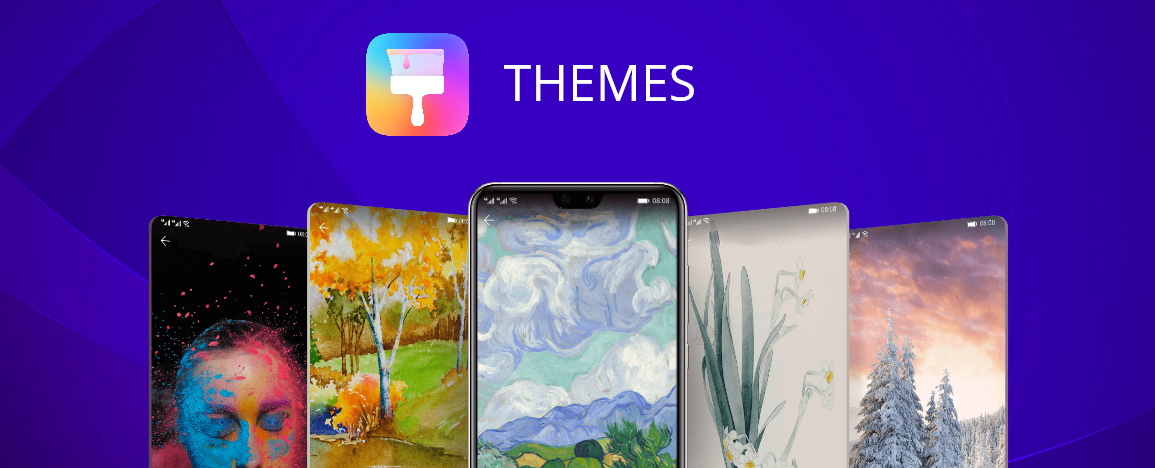 Huawei Themes application