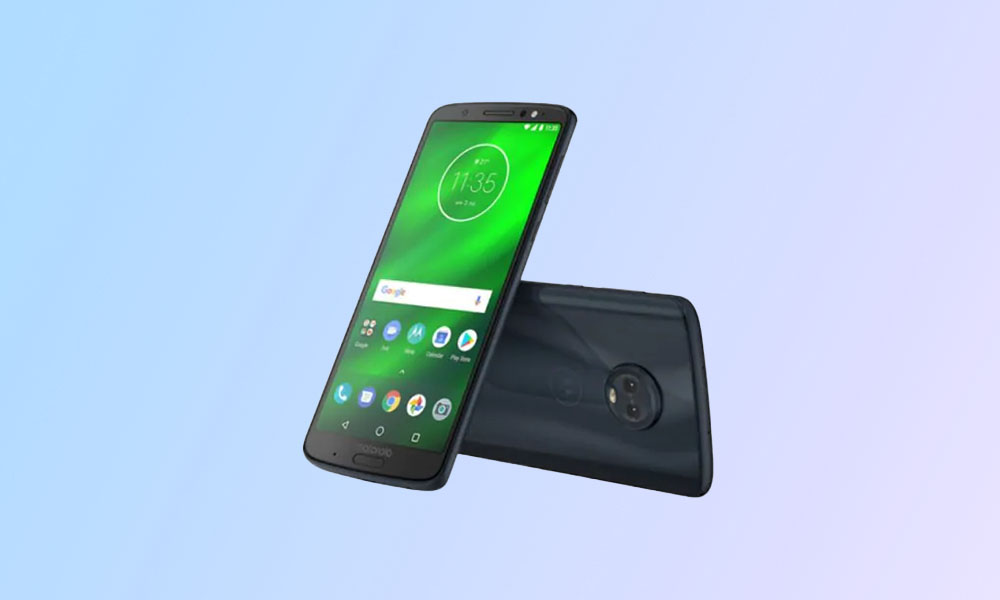 Verizon Moto G6 bags PDS29.118-15-11-14 update with bug fixes