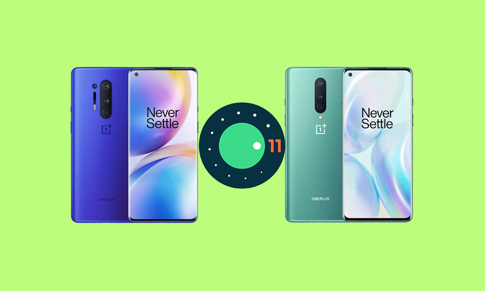 OnePlus 8 and 8 Pro Android 11 OxygenOS 11 Open Beta 2 Stable Update