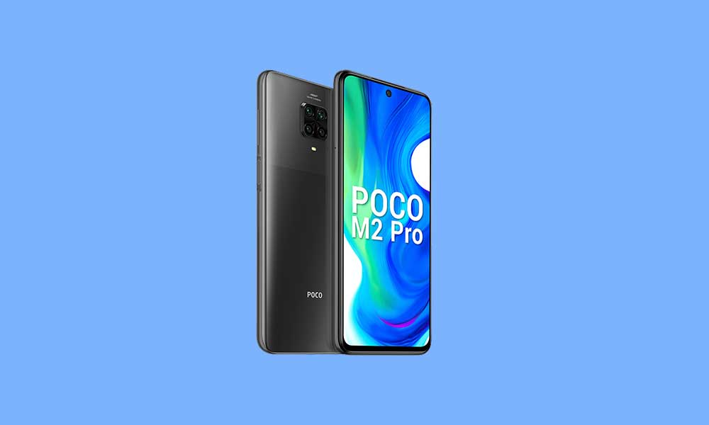 Poco M2 Stock Firmware Flash File (Back to Stock ROM)