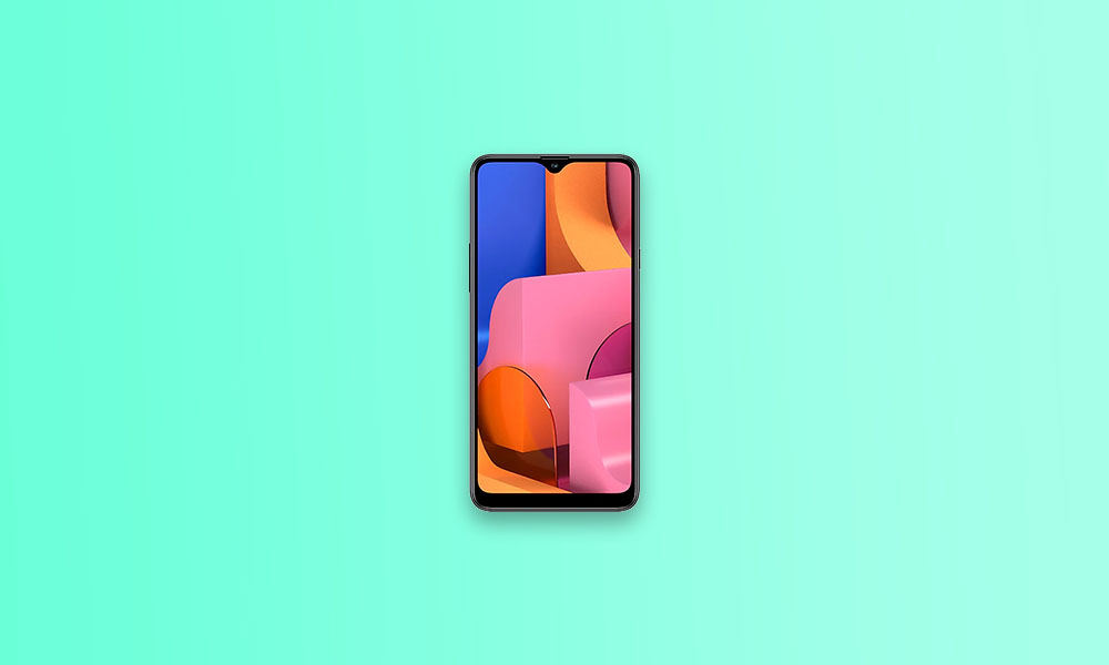 Galaxy A20S gets A205GUBS7BTK1 October Security Patch 2020