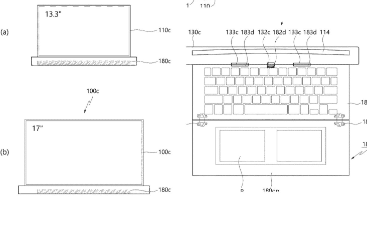 LG rollable laptop patent image(2)