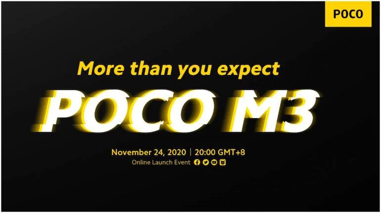 POCO M3 poster