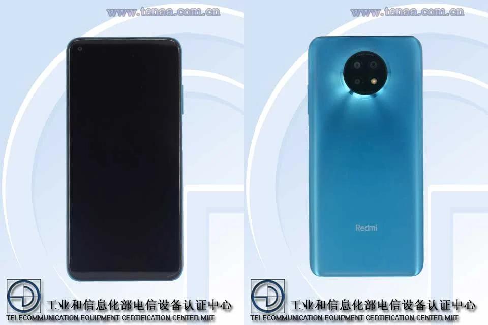 Redmi Note 9 5G TENAA image