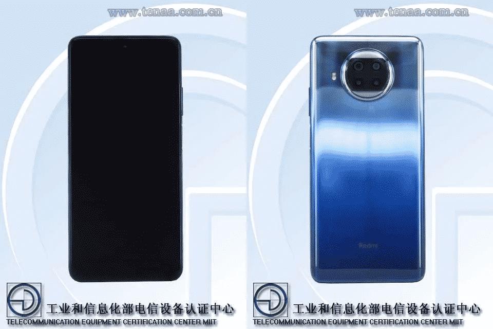 Redmi Note 9 Pro 5G TENAA image