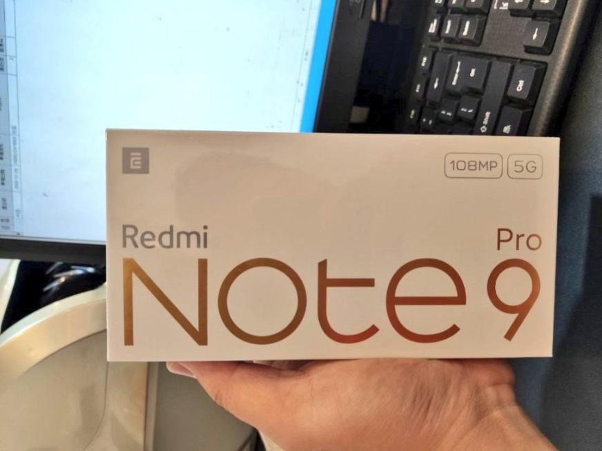 Redmi Note 9 Pro 5G retail box
