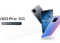 Vivo V20 Pro 5G listing goes live on Amazon India and official website ahead of the launch