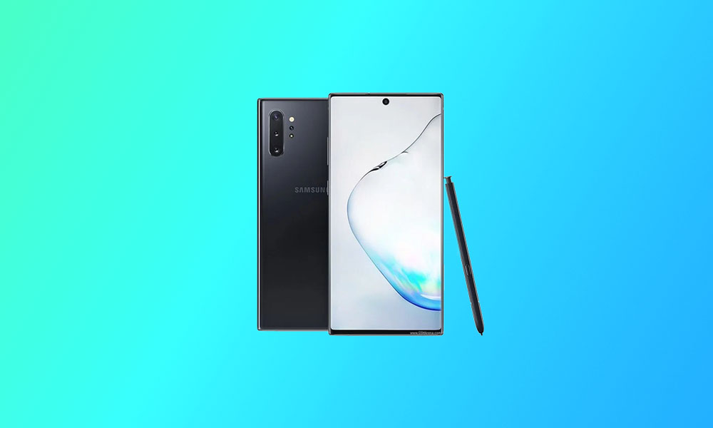N975USQS5DTJ8: US Carriers Galaxy Note 10 Plus November Security Patch