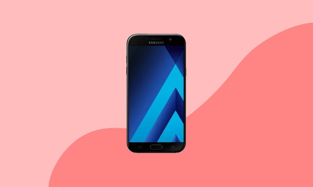 A720FXXS9CTJ9 : November Security For Galaxy A7 2017 (Global)
