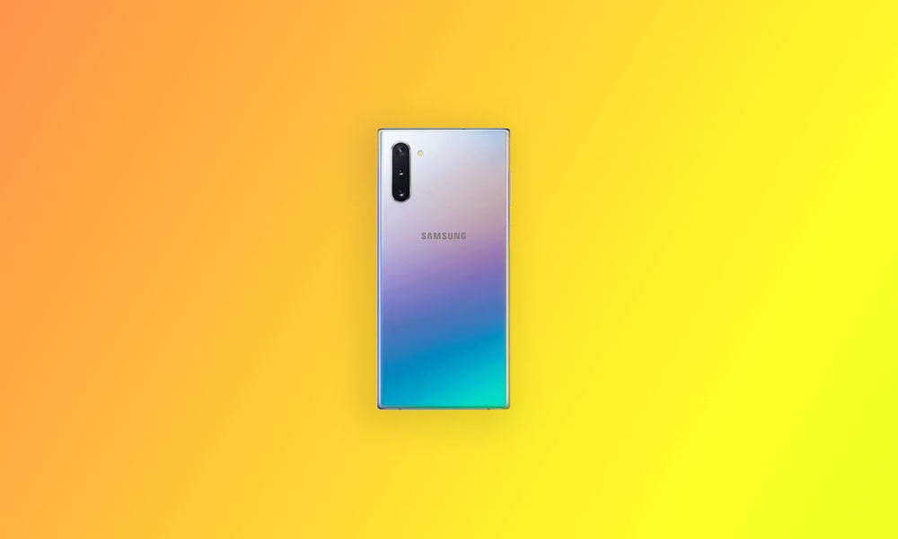N970USQS5DTKA - US Carriers Galaxy Note 10 December Security Patch