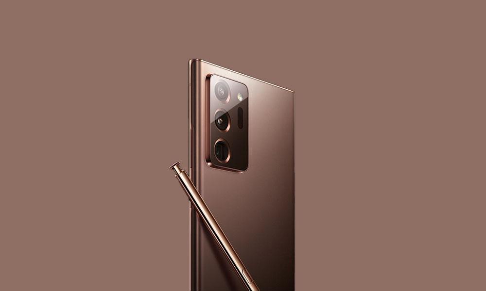 N986USQS1BTK3: November 2020 Security Patch Sprint Galaxy Note 20 Ultra 5G