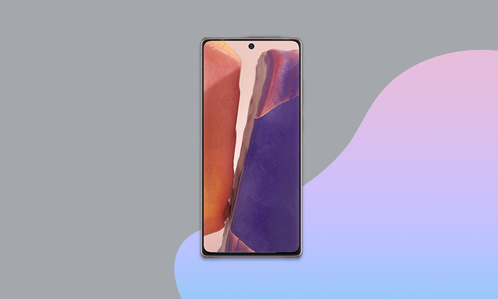 N981USQS1BTK3: November 2020 Security Patch Sprint Galaxy Note 20 5G