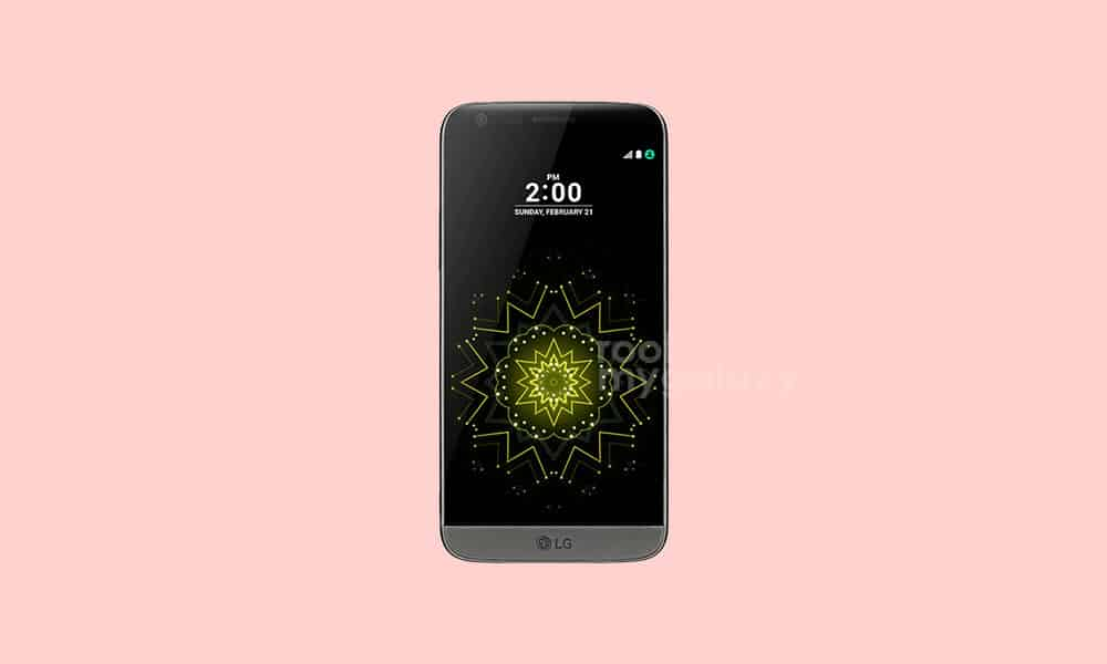 Download/Install Lineage OS 18.1 For LG G5 All Variant (Android 11)