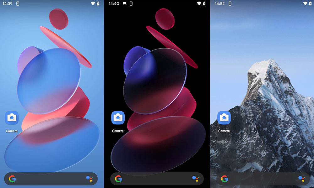 Download MIUI 12 'Snow Mountain' and 'Geometry' Super Wallpapers