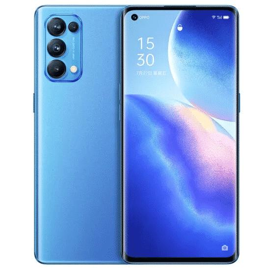 Oppo Reno5 Pro 5G - Aurora Blue