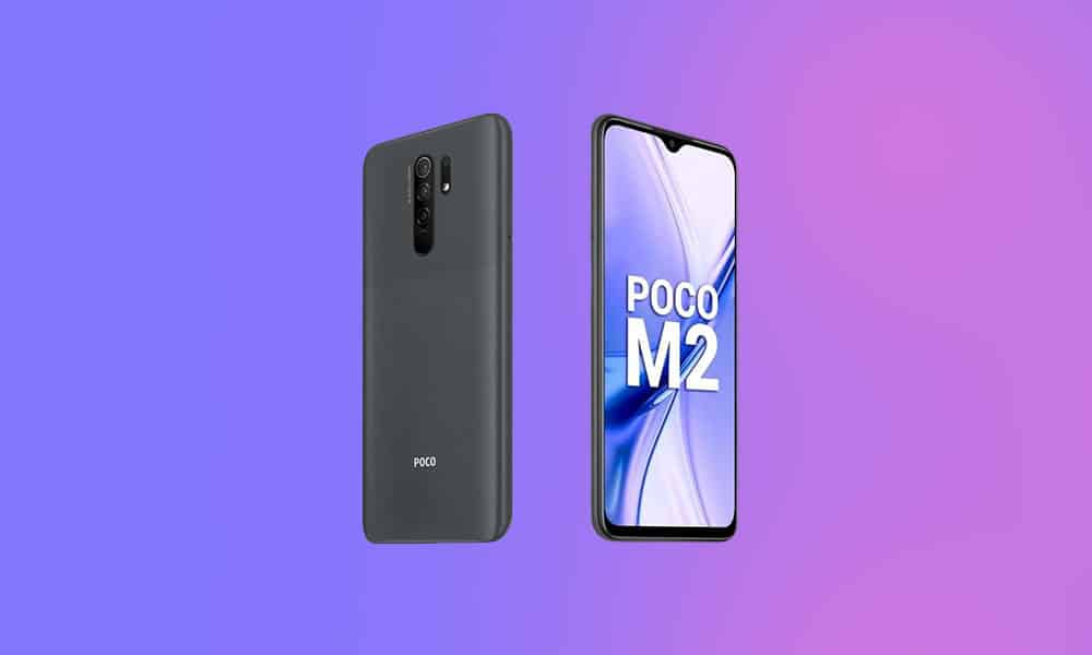 V12.0.1.0.QJRINXM - Poco M2 MIUI 12 India stable ROM released (Download OTA)