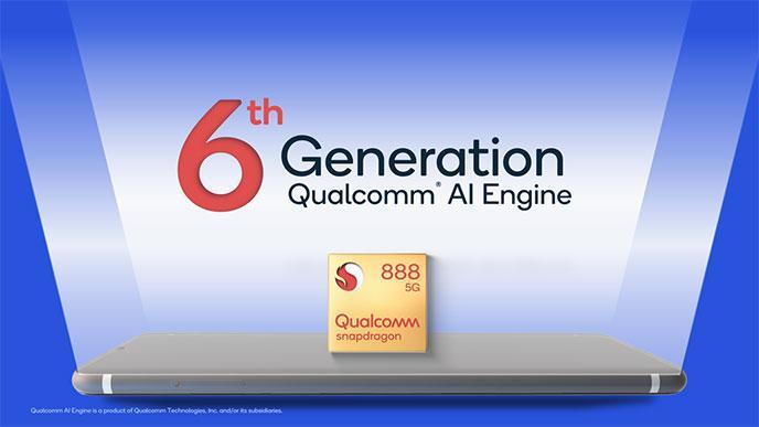 Qualcomm Snapdagon 888 chipset