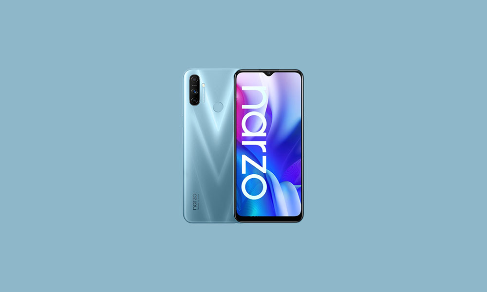 Realme Narzo 20A picks up RMX2050_11_A.19 with November 2020 security patch
