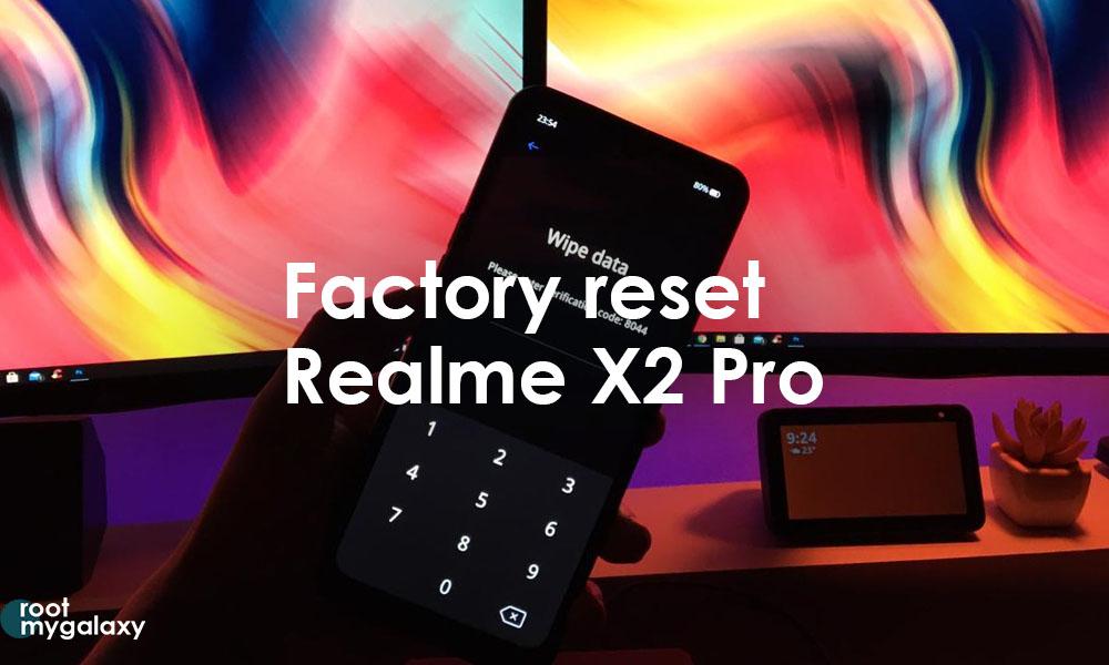 Factory Reset Realme X2 Pro