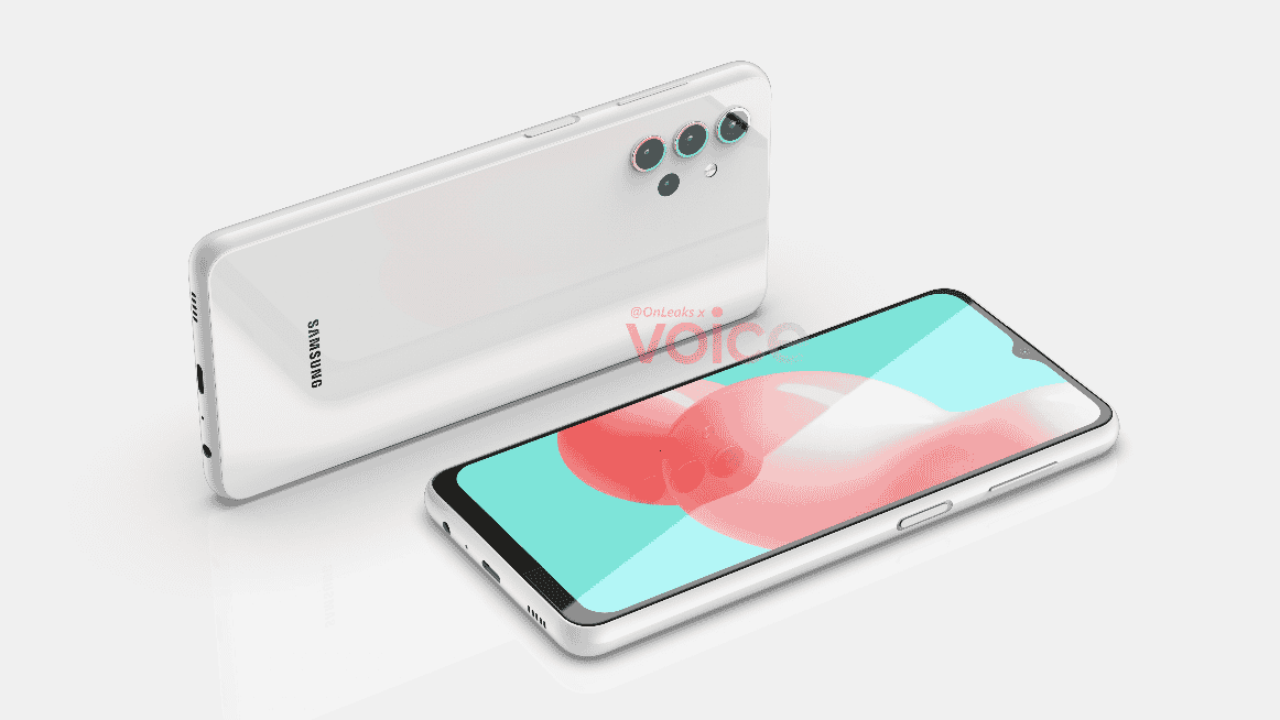 Samsung Galaxy A32 5G render