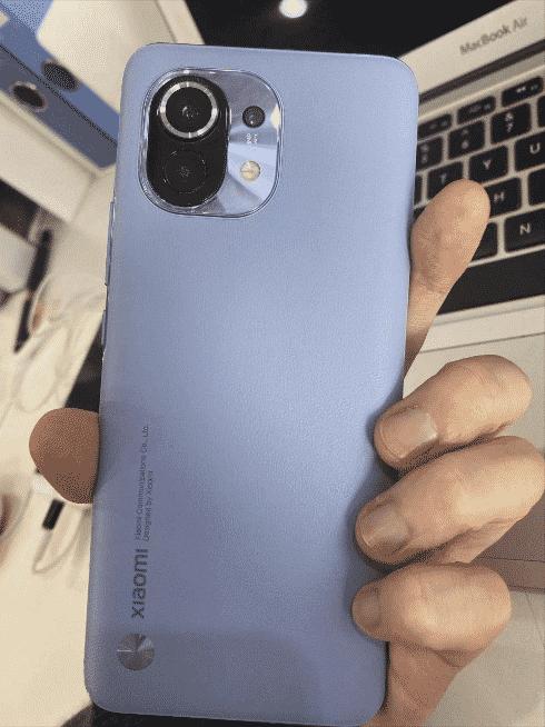 Xiaomi Mi 11 live shot